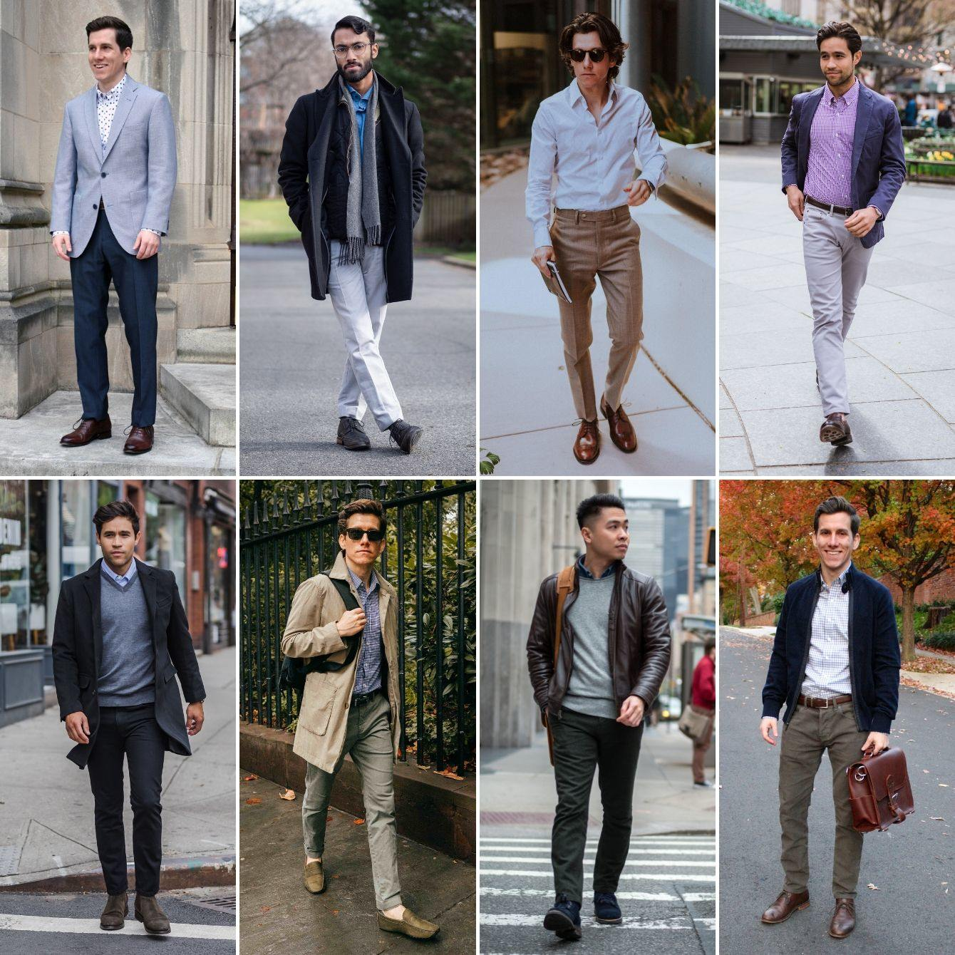 Best Business Casual And Men Attire To