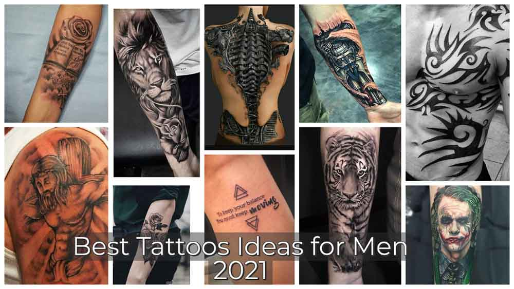 Best tattoos ideas for men to try in 2021