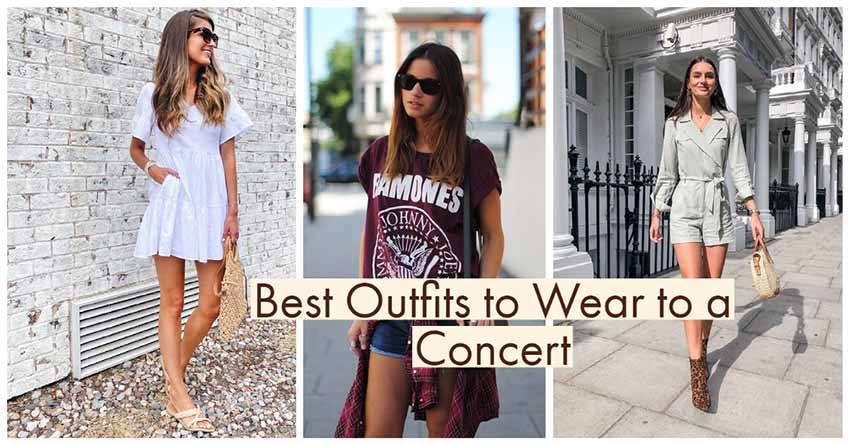 best concert outfits 2021, what to wear to a concert, concert outfits ideas