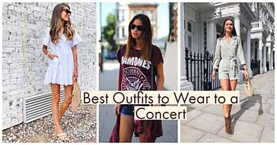 What to Wear to Any Concert | 18+ Trendy Outfits Ideas